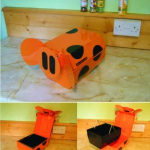 Orange piglet