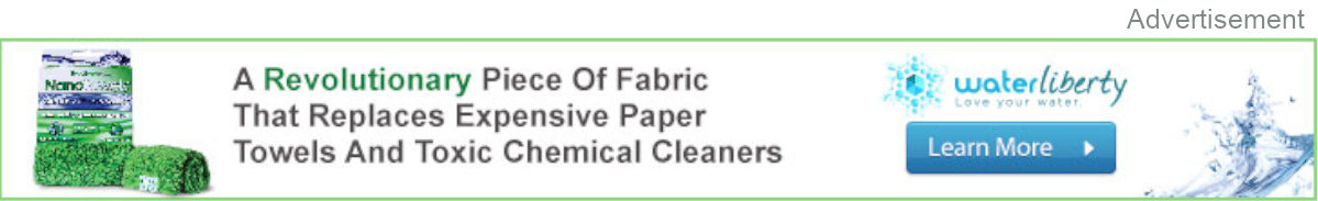 Replace paper towels with this!
