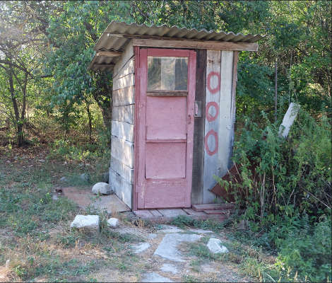 Composting toilet 5