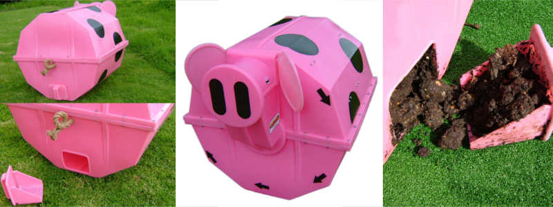 The Rolypig Compost Tumbler