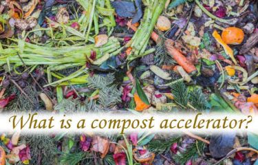 What is a compost accelerator?