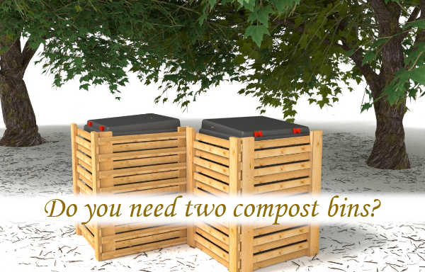 Do you need two compost bins?