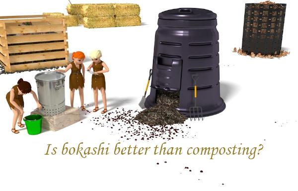 Is bokashi better than composting?