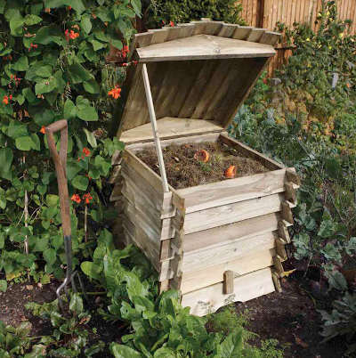 The beehive composter