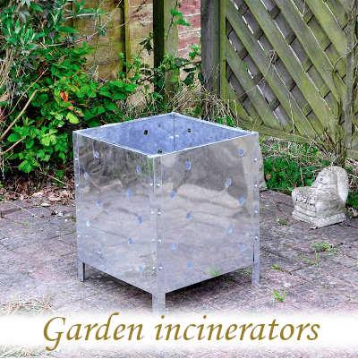 Garden incinerators