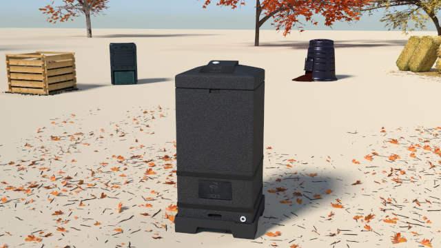 Compost bins_ hot