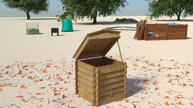 Compost bins_beehive
