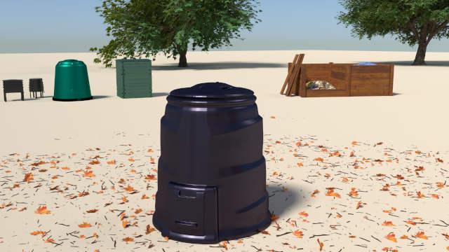 Compost bins_plastic