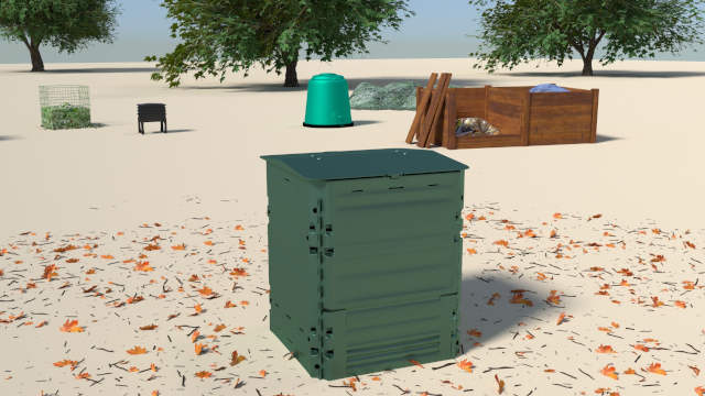 Compost bins_thermo